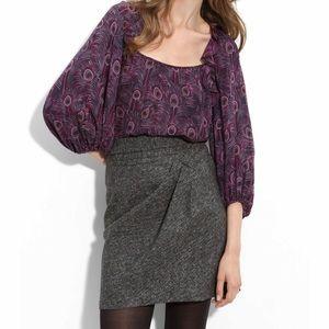 Nanette Lepore 100% Silk Size 6 Foul Play Top